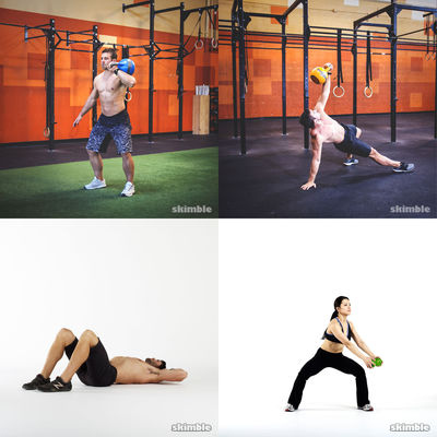 do at home strength  workout collection  workout trainer