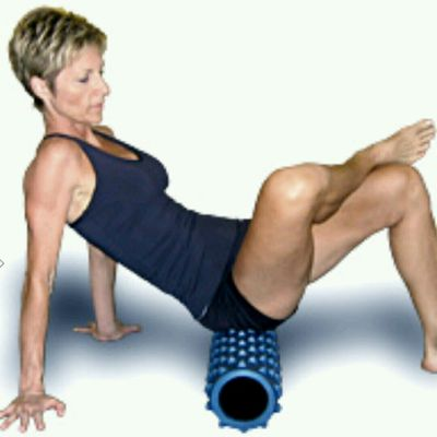 Advanced Right Glute Rolls