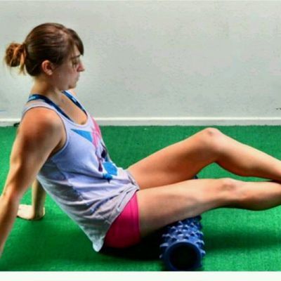Hamstring Rolls - Stacked (Cross Legs)