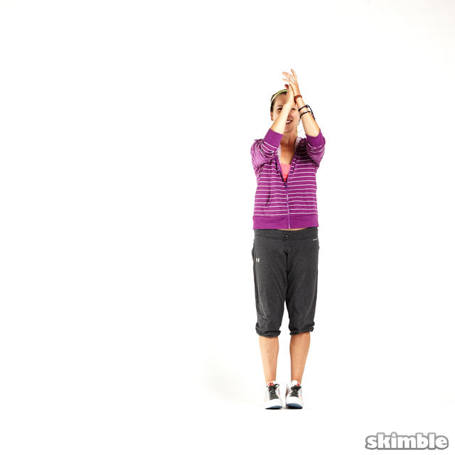 How to do: Side Hop and Clap - Step 1
