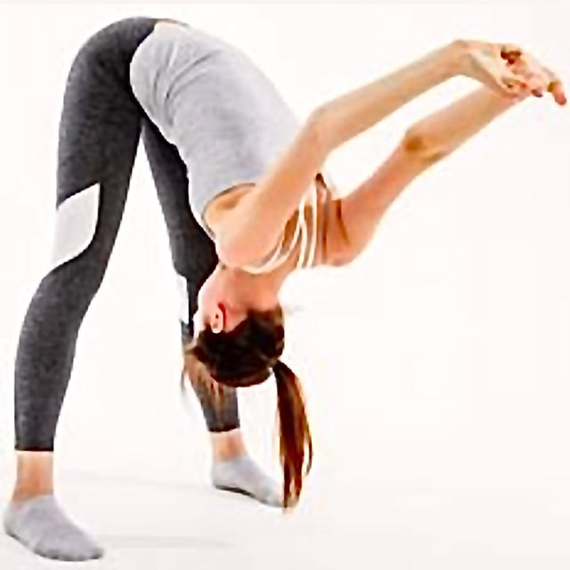 Chest Opener With Forward Bend