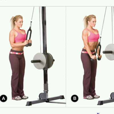 Rope Tricep Push Down