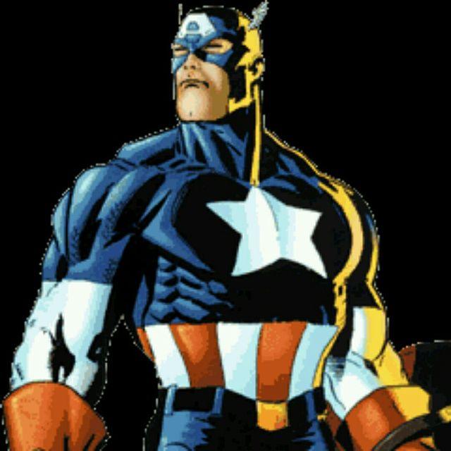 Captain America Abs