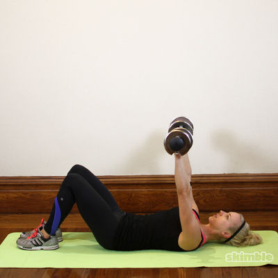 Supine Dumbbell Chest Press