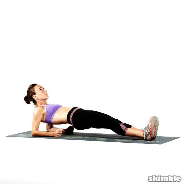 How to do: Reverse Elbow Plank - Step 3