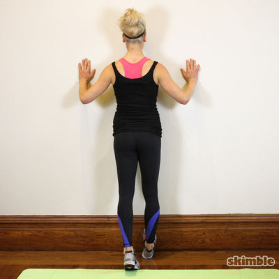 Standing Calf Stretches