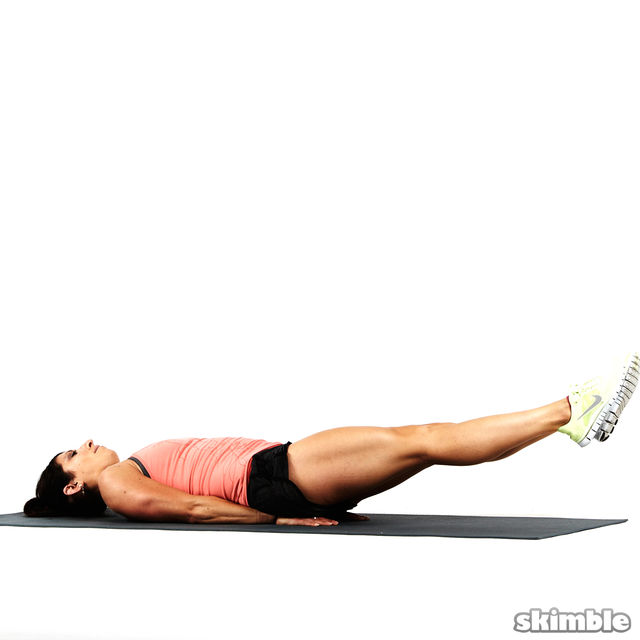 How to do: Lying Leg Figure Eights - Step 5