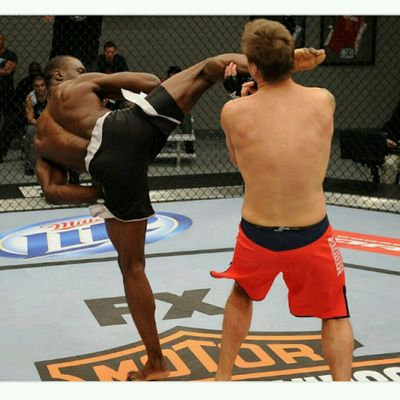 Freestyle Kickboxing Combo