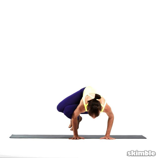 How to do: Left Side Crane - Step 5