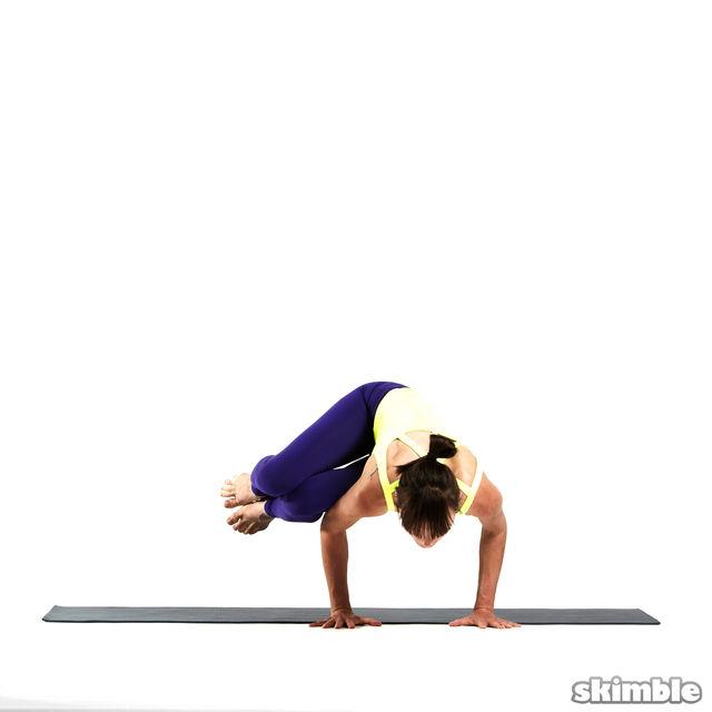 How to do: Left Side Crane - Step 4