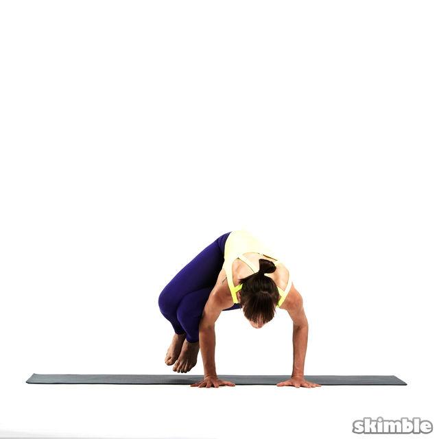 How to do: Left Side Crane - Step 3