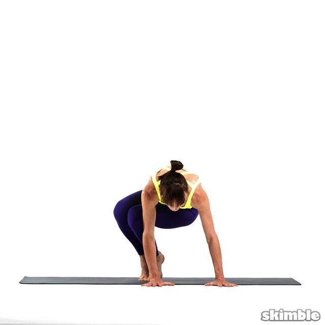 How to do: Left Side Crane - Step 2