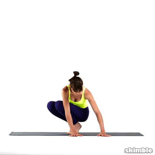 How to do: Left Side Crane - Step 1