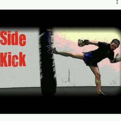 Right Front Side Back Kick