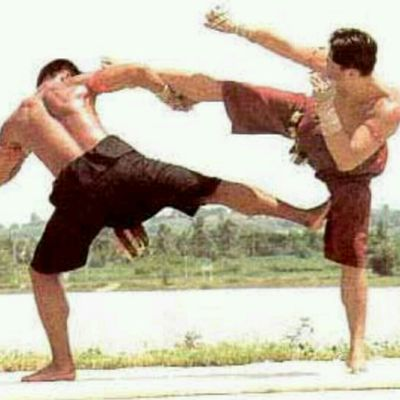 Right Side Kick High Low