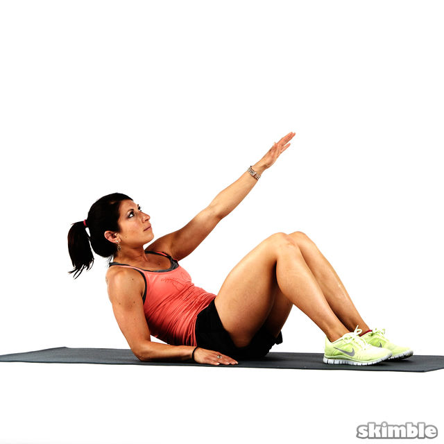 Kimura Sit Ups Exercise How To Workout Trainer By Skimble
