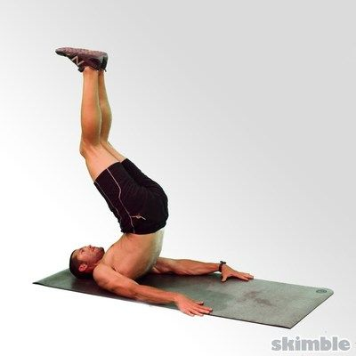 8 Bent Knee Hip Raises