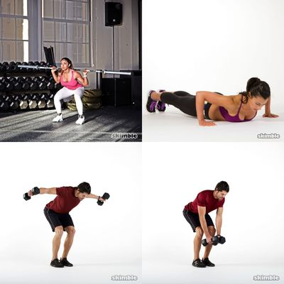 Workouts To Get Shredded.
