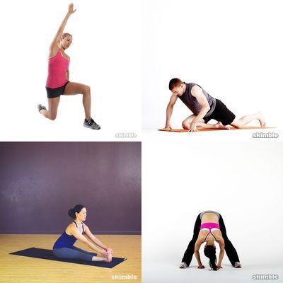 * Alongamento + Yoga