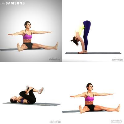 stretches for back