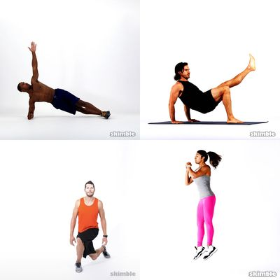 List of good workouts