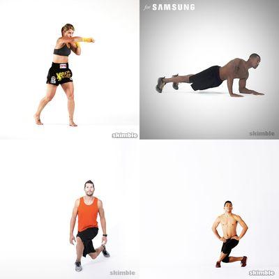 samanthas workouts