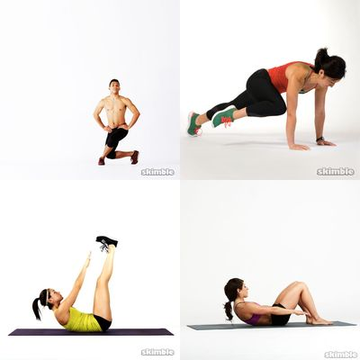 Lose weight and core