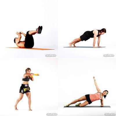 Workouts I do