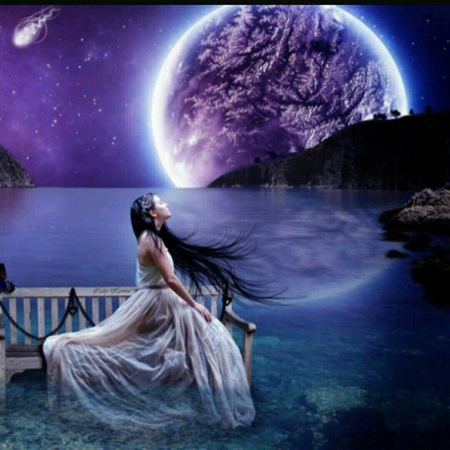 Cosmic Moon ** {YIN YOGA ☯️ Kidneys, Bladder, Lungs} ☆HS