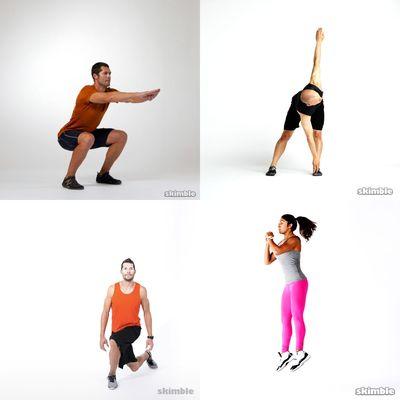 main workout