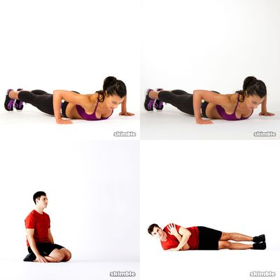 pushup and situps