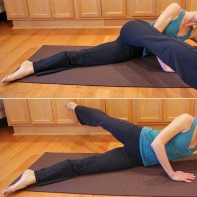 Side Lying Leg Swing