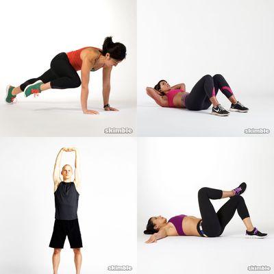 my workout!
