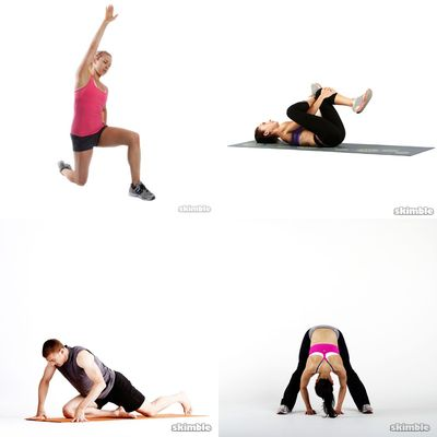 post work out stretches