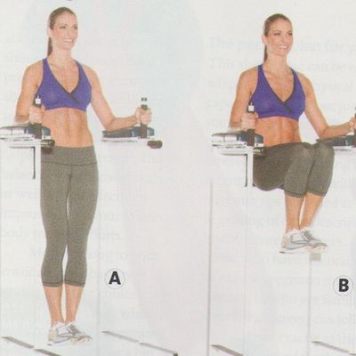 Levantamiento de piernas para abs