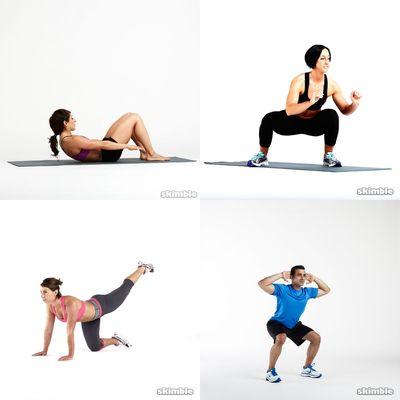 monday/core&lower body