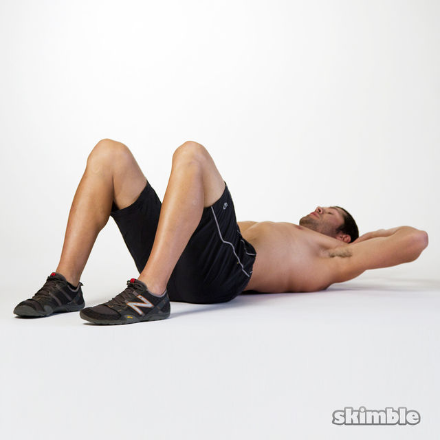 How to do: Oblique Crunches - Step 2