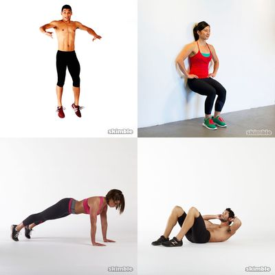 No escuses! less than 7 minutes workouts!