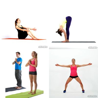 yoga lunch workouts