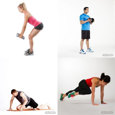 Tri-weekly workouts