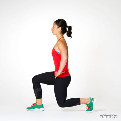 Overhead Weight Walking Lunges