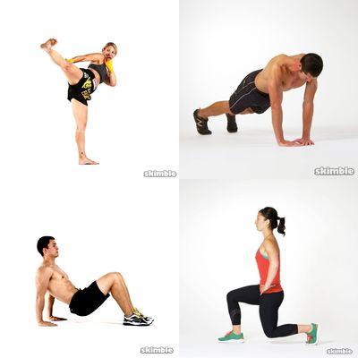 Bodyweight Strength Workouts