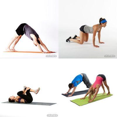 Casual yoga