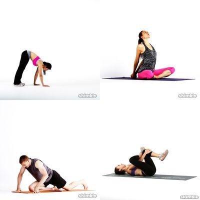 Yoga bøy og tøy
