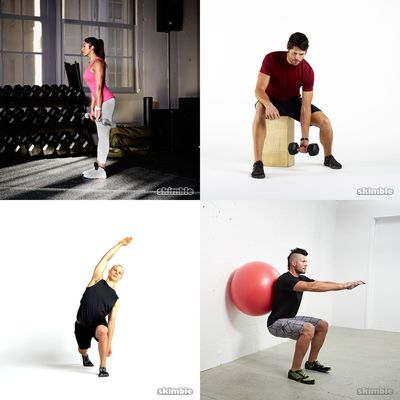 varying full body workouts