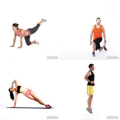 Emma's workouts