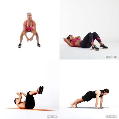 Casual Workouts I Like
