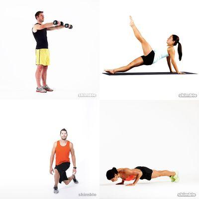 DP workouts