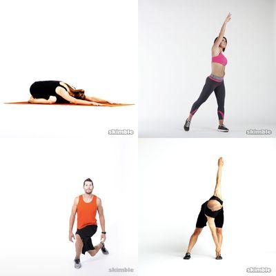 Full body stretches