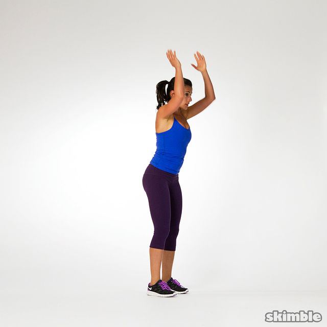 How to do: Burpees - Step 5